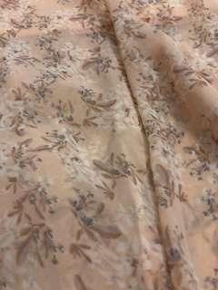 Forever New Asymmetric Floral Skirt