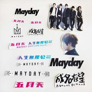🚚 Mayday Stickers