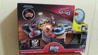 Disney Pixar Cars Crank & Crash Derby Playset反斗車王套