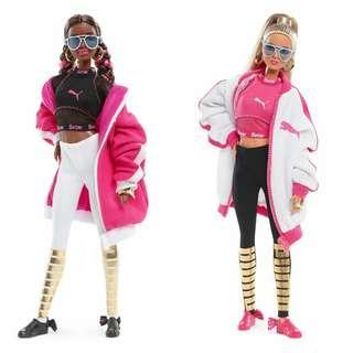 [2 Dolls] Barbie Collector Puma 2018 Doll