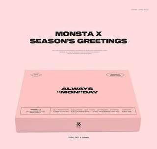 【Preorder】MONSTA X 2019 SEASON'S GREETINGS