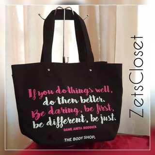 The BODY SHOP Canvas Tote Bag