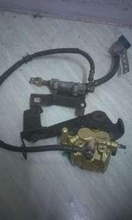 Pump brake 125z copy ori