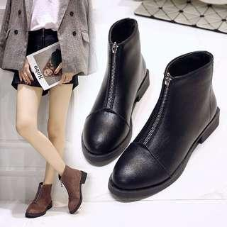 [Pre-Order] Women Black Ankle Boots