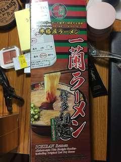 日本一蘭拉麵