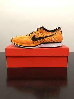 Nike Flyknit Racer Sunset Yellow