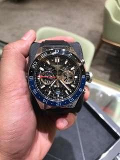 BNIB Tagheuer Carrera Heuer 02 Chronograph GMT
