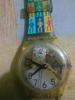 Jam tangan swatch swiss