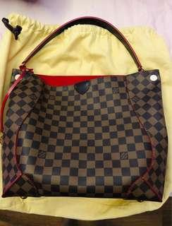 1bf5f3174e LOUIS VUITTON Damier Canvas Caissa Hobo Bag