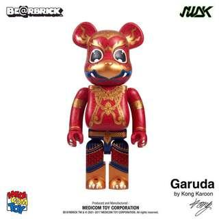 Bearbrick Garuda 400% & 100% set of 2