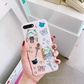 iPhone 6/7 6sCase 美少女藍光防摔