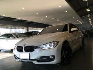 2014 BMW 3- Sedan 318d SPORT Line 歐系柴油轎跑