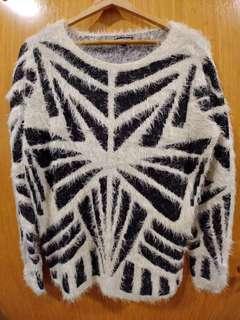 🚚 Warehouse Women's Furry Sweater