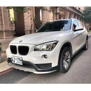 2014年 BMW X1 18i 2.0 白