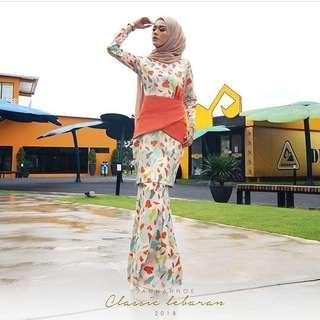 JannahNoe Zara Kurung XL #Fashion100 #JulyPayDay