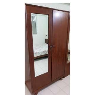 Old charming wooden 2-door wardrobe (@$260 each)