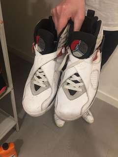 Air Jordan's sports shoes size 8.5