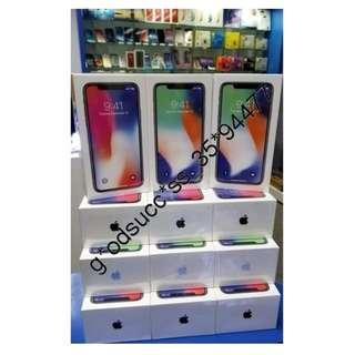 Apple iphone X 256GB 全新香港行貨 原廠一年保養 (全新原封)