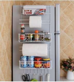 廚房花花冰箱櫃側掛架
