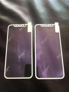 New! iPhone X/XS Glass Screen Protector x2