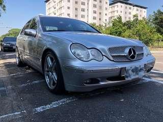 【自售】Mercedes-Benz2001年C240入主賓士三星芒~就趁現在 ~滿滿的配備~高貴不貴~機車價
