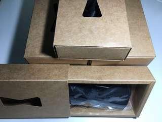 [全新]伴郎黑色暗紋煲呔8條連盒 送 禮盒裝酒紅色 鑲仿鑽 新郎煲呔 [New Bowties]