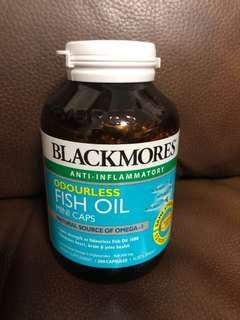 Blackmores odourless mini caps fish oil