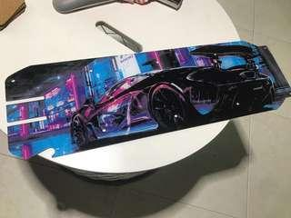 Speedway 4 custom acrylic deck