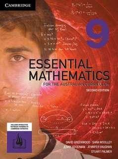 Cambridge Maths Year 9 (2E)