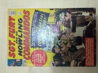🚚 Sgt Fury and His Howling Commandos Vol. 1 #7 - Origin of Nick Fury