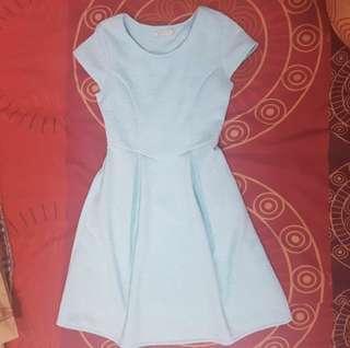 Mint & Co Blue Dress