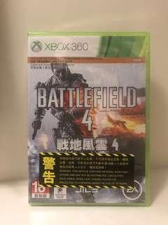 Battlefield 4 (全新未拆商品)射擊game)