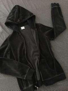 Banana Republic Velvet Black Jacket