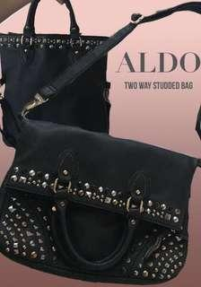 Aldo Two Way Studded Bag