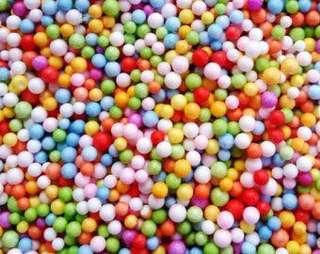 foam beads for slime (available in all colors and sizes)
