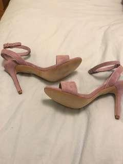 Sandro heeled sandals: NEVER WORN!