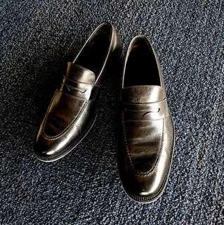 Cole Haan Men's Black Leather Shoes Size 8.5 US