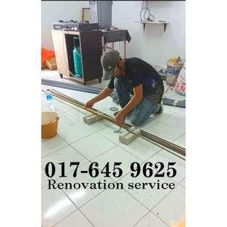 Renovation service samsul alif 017-645 9625