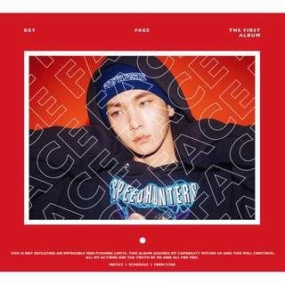 KEY FIRST SOLO ALBUM - FACE