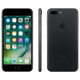 <Price Nego> 256gb IPhone 7 Plus (Matte Black)