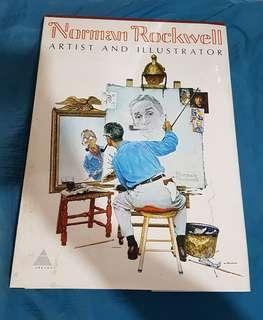 Norman Rockwell Artist and Illustrator Coffee Table Book