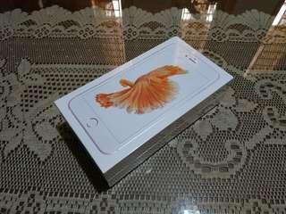 Iphone 6s plus 32gb rosegold BARU BNIB GARANSI IBOX ERAFONE 1 tahun