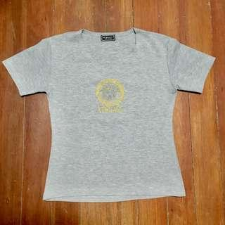 Versace Jeans Couture Medusa Gray Shirt