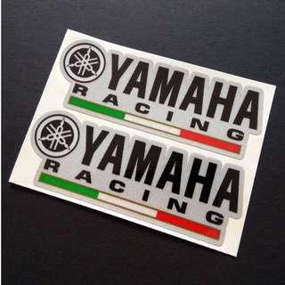 Yamaha Racing Helmet Sticker