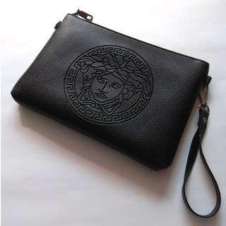 Medusa Versace Style Swag Clutch Hand Carry Bag Pouch