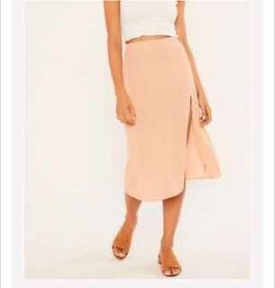 Glassons side split midi skirt