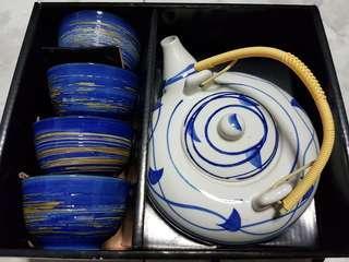 5 Piece Japanese Tea Sets
