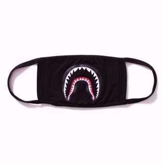 Shark Mouth 16ss Bathing Ape Face Dust Mask