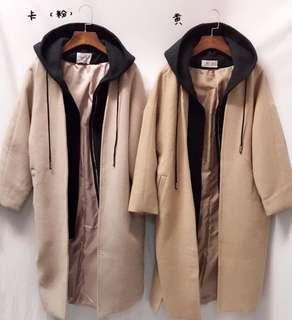 🚚 [全新]韓版假兩件外套-粉色