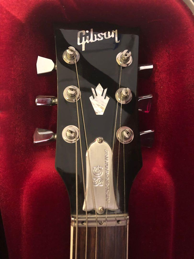 2017 Gibson SG standard high performance HP electric guitar